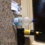 Senseur sous les bouteilles