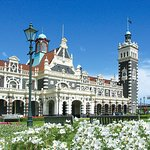 Iconic Dunedin Railway Station home to Cobb & Co, Dunedin