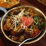 Eggplant & Tomato Curry
