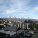 View from our bedroom out towards the Remarkables