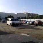 Area de estacionamiento.