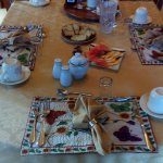 Breaskfast Table Setting