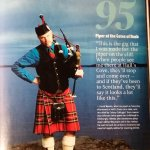 Your host was features in Down East magazine this year. Ask him to play his bagpipes for you!