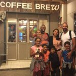 Coffee shop that you can Bring your whole family!