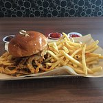 Barbeque Burger--- Delicious is the word!