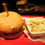 Bonsai Burger with Cole Slaw, Red Robin Gourmet Burgers, Santa Clara, Ca