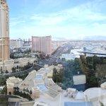 Wynn suite & View of Las Vegas Strip