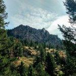 At the start of the Eldorado Canyon trail.