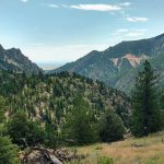 Great view in the Eldorado Canyon trail.