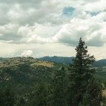 Panoramic view at the top of the trail.