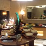 Buffet in Executive lounge.