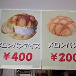 Pictures of melon bread