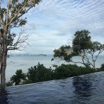 View from the infinity pool.