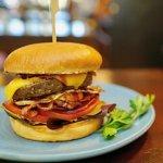 Saltwater's Classic beef burger