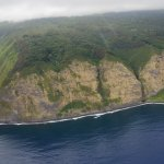 Cliffs on the eastern coast of the Big Island