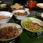 Lunch buffet on 4th flr
