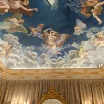 Real Casino de Murcia: Tocador, detalle de pinturas del techo