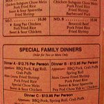 Some of the Diners they offer