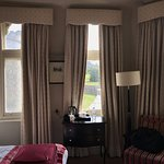 Room at second floor, wonderful views of the castle