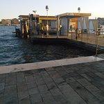 Water bus stop