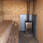 Woodfired sauna - simply amazing after a long day fishing, hunting or walking. Bookings essentia