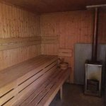 Sauna - lots of room