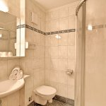 All rooms have their own private bathroom with WC and shower or bath tub.