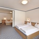 All rooms are equipped with TV, telephone, WC with shower or bath tub, hair dryer, radio, free w
