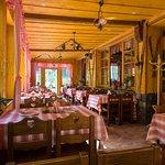 Ľudová reštaurácia - salónik, keď ešte nebola pristavená Rotunda