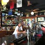 a view of the bar at Rattlesnake Jake's