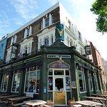 The pub is on corner of Lambeth & Kennington Roads.
