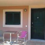 Our patio/veranda area and external view
