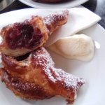 Black cherry pastry