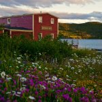 The Twine Loft in July, Trinity, Bonavista Peninsula, Newfoundland