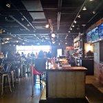 2 Sided Bar Area