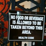 FAKE HEALTH CODE SIGN