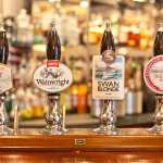 A selection of real ales always available