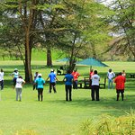 diverse Lush gardens for outdoor events and cop orates teambuilding