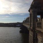 Rochester Bridge facing towards Strood