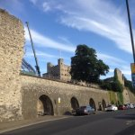 Rochester Castle from Rochester Bridge