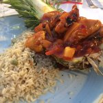 Sweet and Sour chicken dish