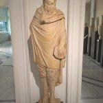 Hoofed statue