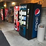 Jack Huff's Vending next to office