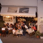 Ristorante Savo from road overlooking the square