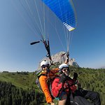 Fantastic place to paraglide from!