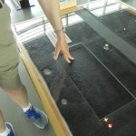 You can actually touch a piece of iron from the USS Monitor!