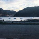 Increíble lugar. Realmente frente al lago. Vista inmejorable