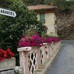 pont dans le village de lastours