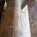 The incredible Medinet Habu temple!