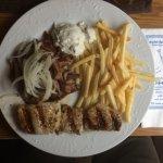 Mittagstisch Mykonos Teller 7,90€